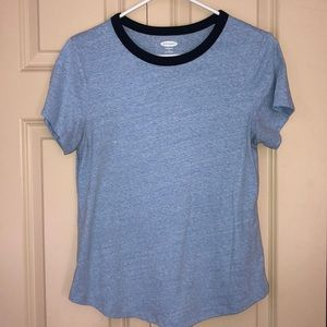Old Navy two tone blue tshirt
